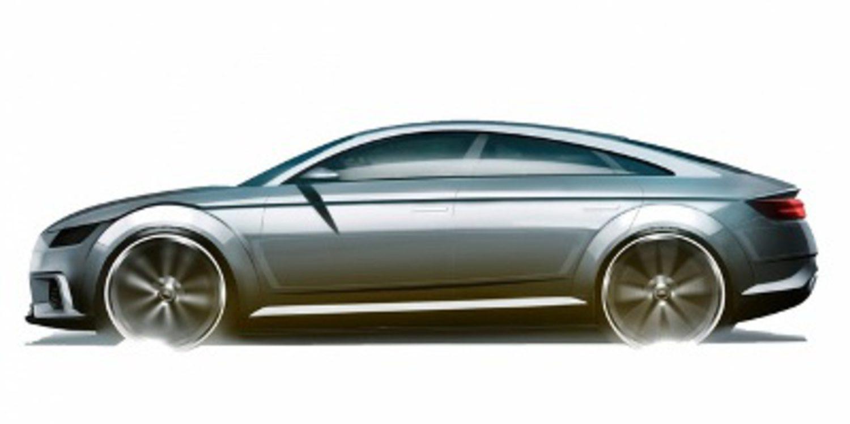Aparecen bocetos del Audi TT Sportback concept