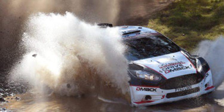 Ott Tänak competirá en Gales con un Fiesta RS WRC