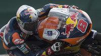 Susto y liderato en el FP1 de Moto3 para Jack Miller en Aragón