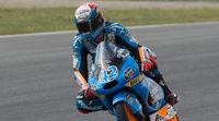 Alex Rins cierra el viernes de Moto3 en Aragón al mando