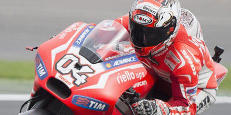 Andrea Dovizioso domina el FP2 en Aragón de nuevo con la GP14.2