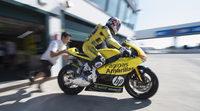 Maverick Viñales pauta en el FP3 de Moto2 en Alcañiz