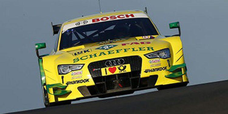 Mike Rockenfeller da a Audi la pole en Zandvoort