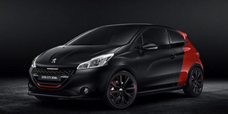 Peugeot desvela el 208 GTI 30 aniversario