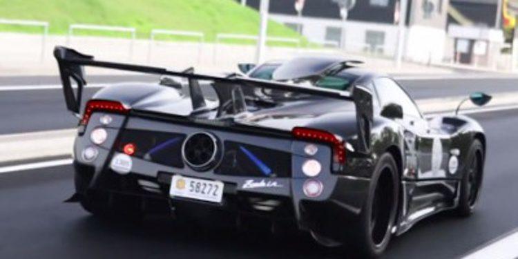 Pagani Zonda 760 LM avistado en Nürburgring