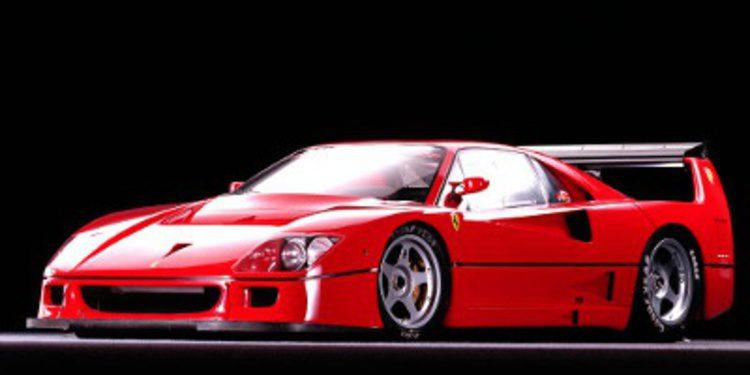 Vídeo: Jacques Laffite domando un Ferrari F40 LM en circuito