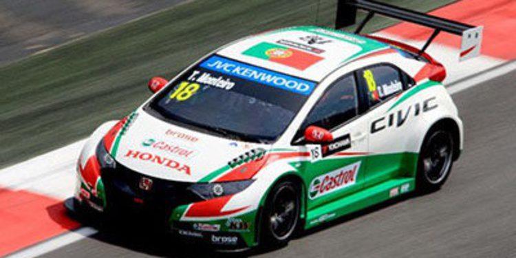 Tiago Monteiro lleva a cabo tests para Honda
