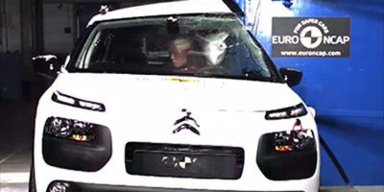 El Citroën C4 Cactus obtiene 4 estrellas en Euro Ncap