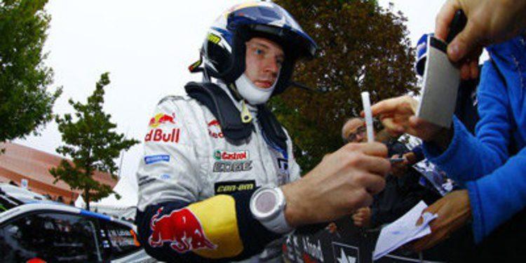 Jari-Matti Latvala al frente del shakedown en Francia