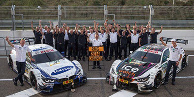 La temporada del campeón por equipos del DTM, BMW Team RMG