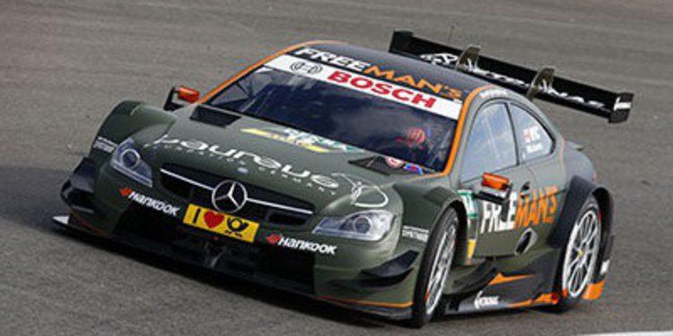 7 Mercedes en Hockenheim con nuevas especificaciones