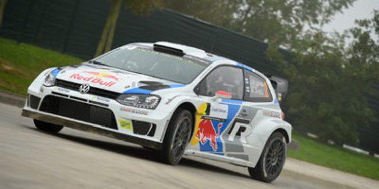 Jari-Matti Latvala primer líder en el Rally de Francia con Ogier KO