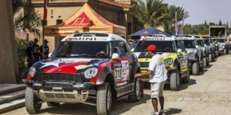 Día de verificaciones en el Rally de Marruecos