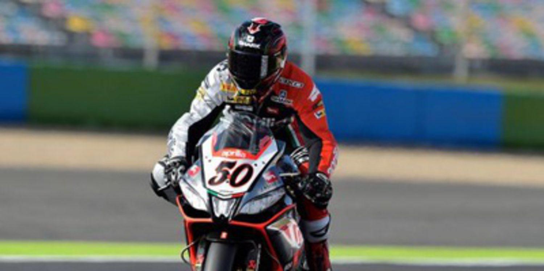 Guintoli recupera el mando en Magny-Cours en el FP3