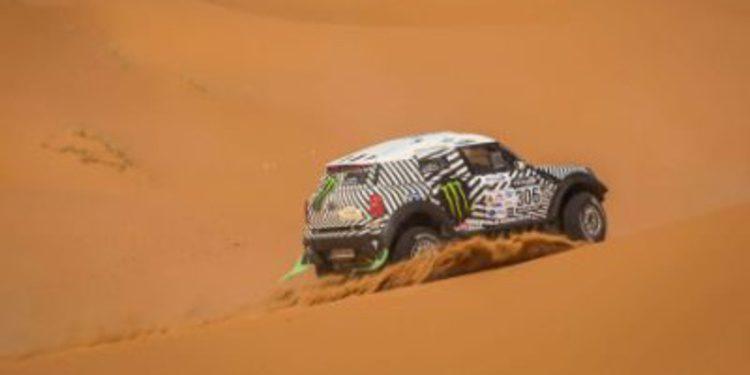 Barreda y Terranova repiten victoria de etapa en el Rally de Marruecos
