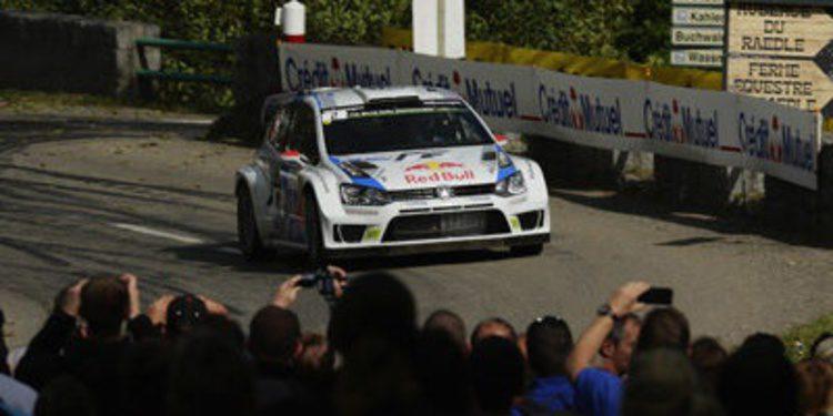 El primer triunfo sobre asfalto de Jari-Matti Latvala