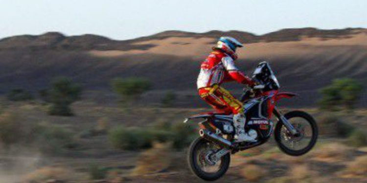 Victoria de Barreda y De Villiers en la quinta etapa del Rally de Marruecos
