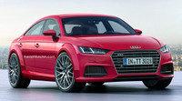 Recreado el aspecto del Audi TT Sportback de producción