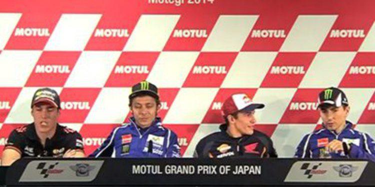 Rueda de prensa del GP de Japón de MotoGP 2014