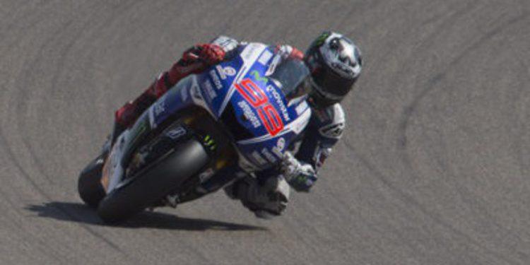 Recado de Jorge Lorenzo en el FP1 de MotoGP en Japón