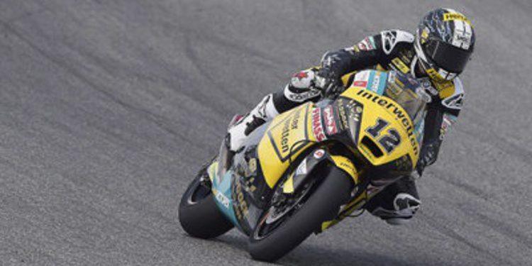 Lüthi y Rabat empatan en Motegi a tiempos en Moto2