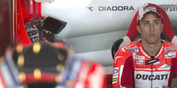 Goma extrablanda y mejor tiempo para Andrea Dovizioso en el FP2