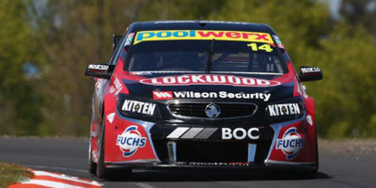 Fabian Coulthard domina, Jamie Whincup sorprende