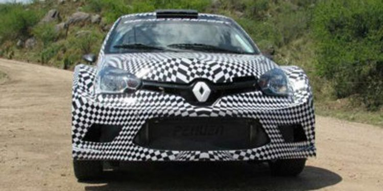 El Renault Clio MaxiRally de Gabriel Pozzo