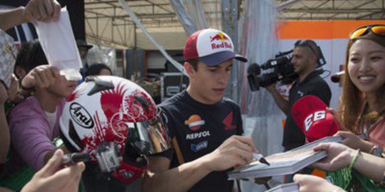 Problemas mecánicos y mejor tiempo para Marc Márquez en el FP3