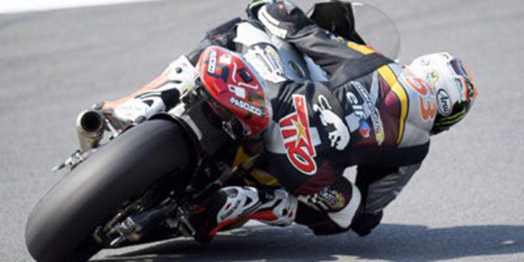 Igualdad y caídas en un FP3 de Moto2 para Tito Rabat