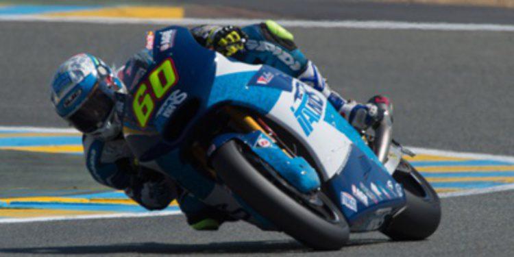 Julito Simón piloto de QMMF Racing en Moto2 2015