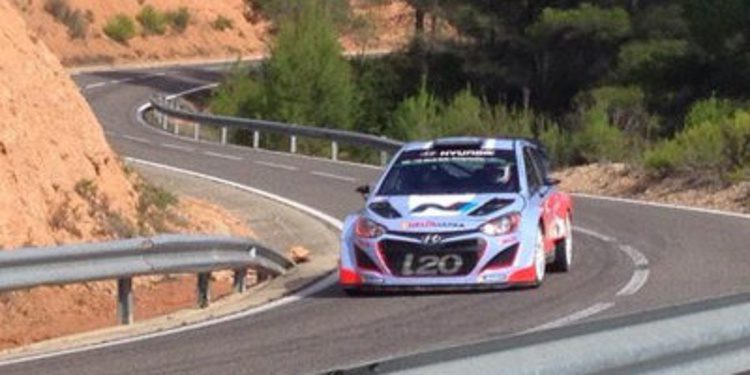 Intenso trabajo de test de cara al Rally de Catalunya