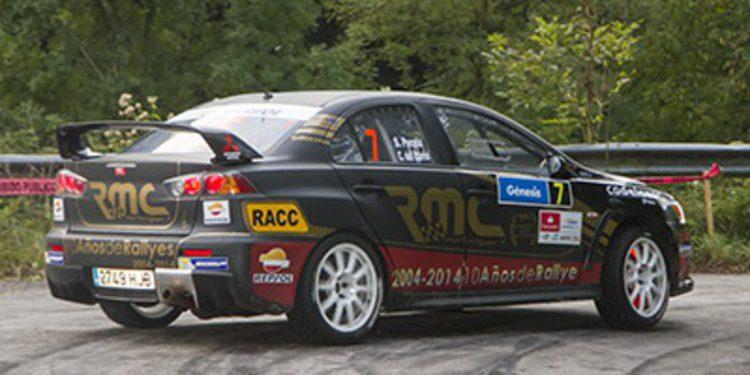 Trofeos y Copas en el Rally de Santander del CERA
