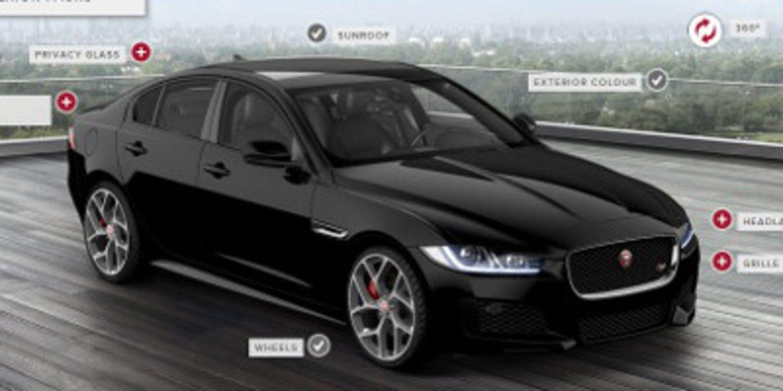 Operativo el configurador del Jaguar XE