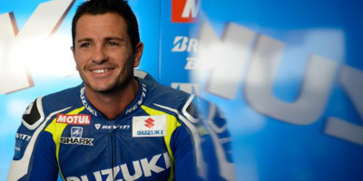 Randy de Puniet piloto de Suzuki en el Mundial de Superbikes
