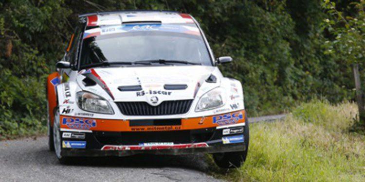 Lista de inscritos del Rally du Valais del ERC 2014