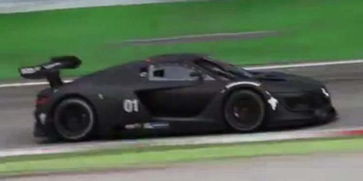 Prototipo del Renault R.S. 01 rodando en vídeo