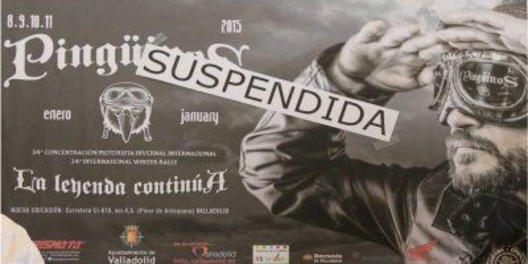 Suspendida la edición 2015 de Pingüinos