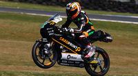Efrén Vázquez mejor tiempo del FP3 de Moto3 'aussie'