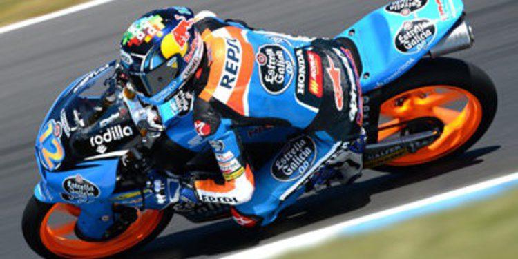 Alex Márquez pole de Moto3 con cabreo de Miller en casa
