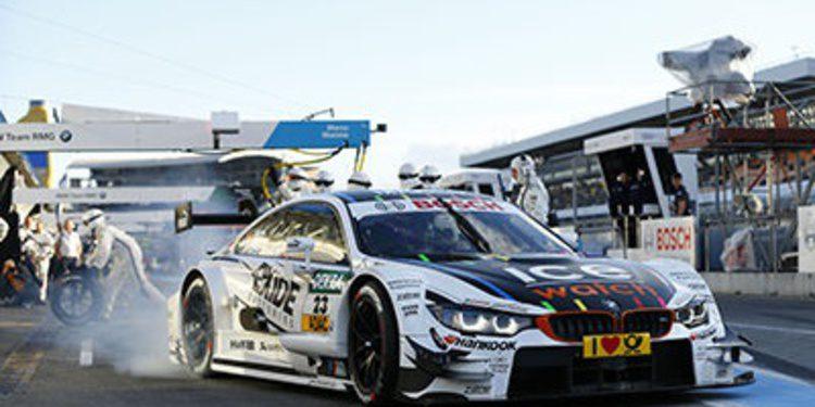 Marco Wittmann y doblete de BMW en los libres 2 del DTM
