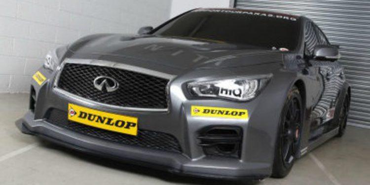 Infiniti entra en el BTCC con un Q50