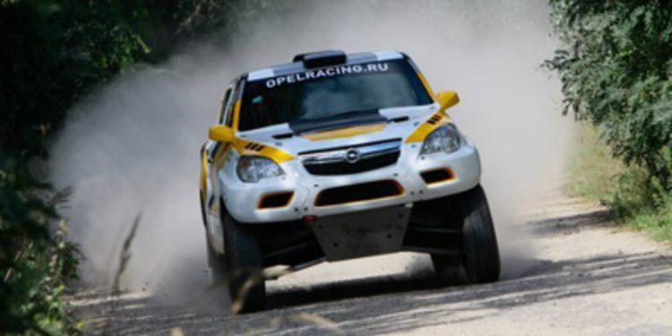 El Opel Mokka de Balázs Szalay para el Dakar 2015