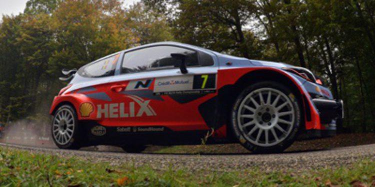 Hyundai listo para la difícil prueba del Rally RACC