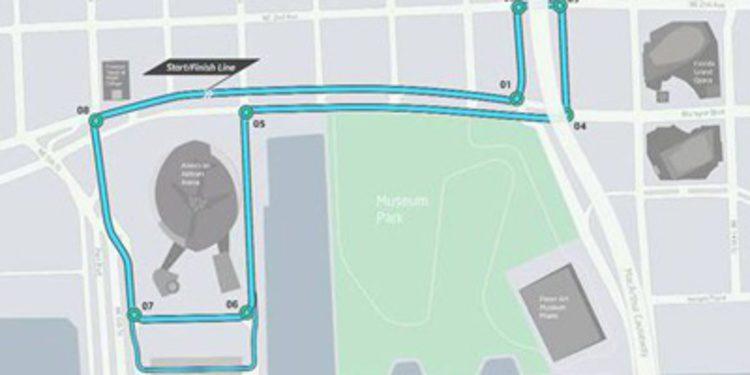 Miami revela el trazado de Fórmula E para 2015