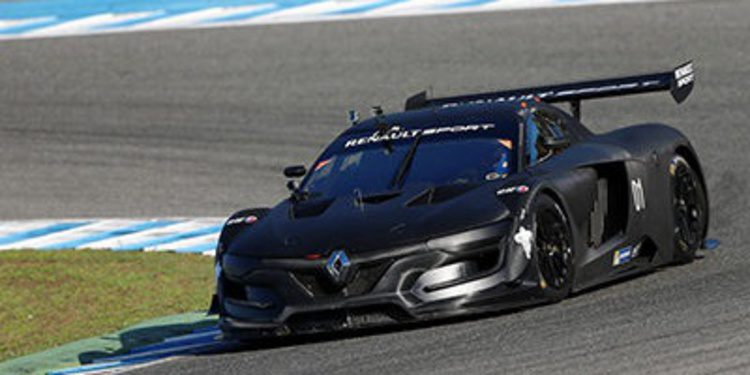 Alain Prost estrena el Renault RS 01 en Jerez