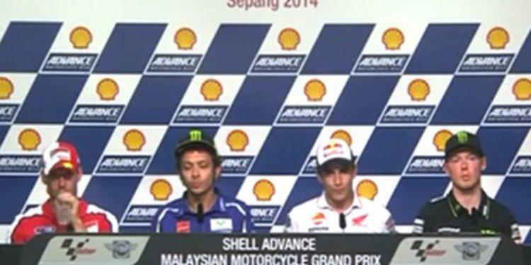Rueda de prensa del GP de Malasia de MotoGP 2014