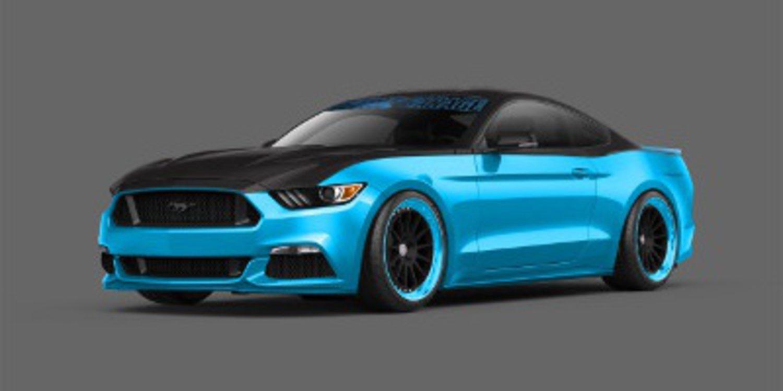 Ford anuncia varios Mustang para el SEMA 2014