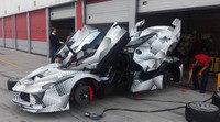 Claras imágenes del Ferrari LaFerrari XX en pruebas