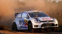 Sebastien Ogier es líder a pesar de abrir pista en el Rally RACC